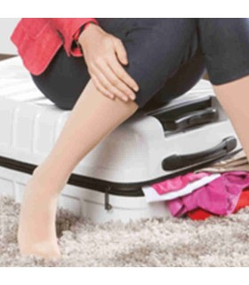 Chaussettes de voyage Medi Travel - Coloris Caramel - Zoom