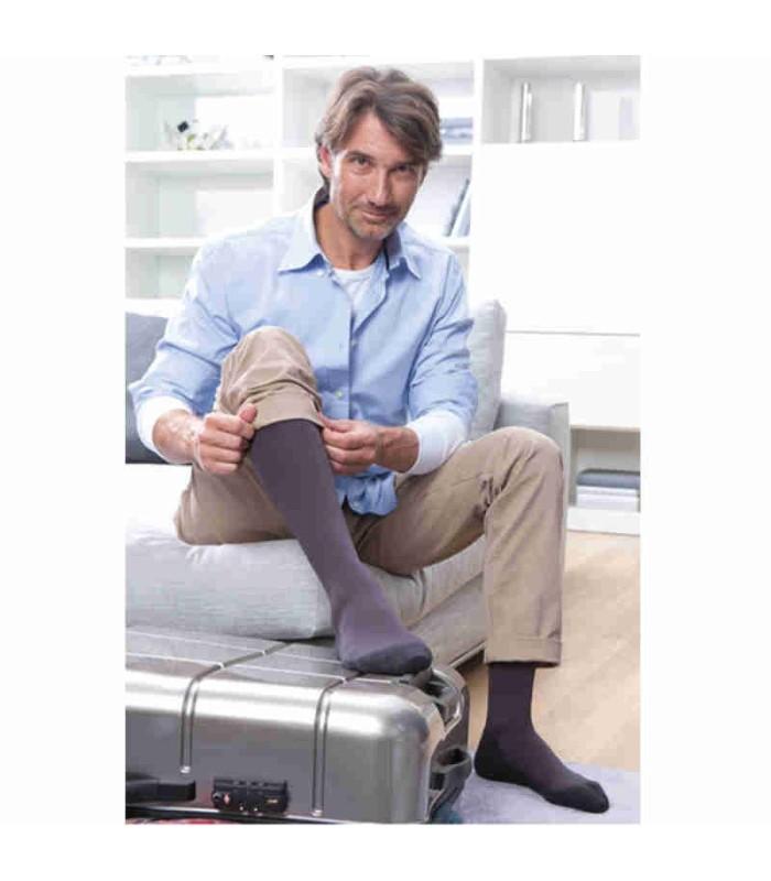 Chaussettes de voyage Homme Medi Travel par Medi - Coloris Anthracite