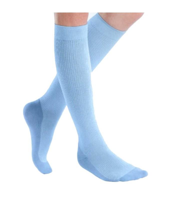 Chaussettes de contention Femme Mediven 20 Active par Medi - Coloris Myosotis
