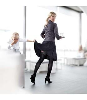 Bas de contention Femme Mediven 20 Elegance par Medi - Coloris Noir - Photo