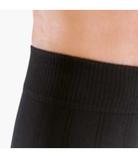 Chaussettes de contention Homme Mediven 20 Complice par Medi - Coloris Noir - Zoom sur le large bord côte