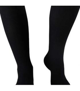 Chaussettes de contention Homme Venoflex Fast Coton Classe 3 par Thuasne - Coloris Côte Noir - Zoom