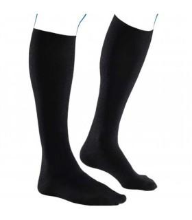 Chaussettes de contention Homme Venoflex Fast Coton Classe 3 par Thuasne - Coloris Côte Noir