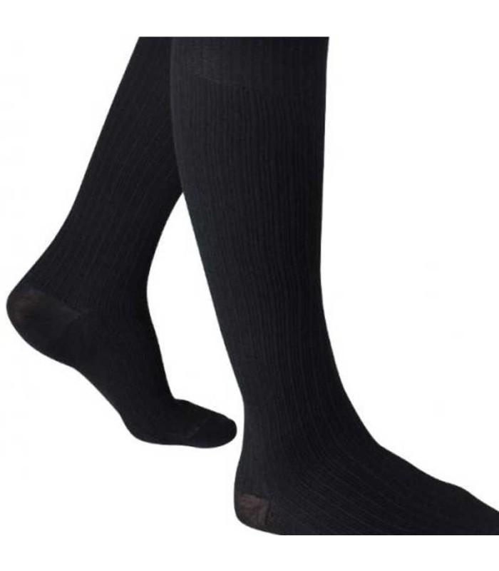 Chaussettes de contention Homme Venoflex Fast Lin par Thuasne - Coloris Noir