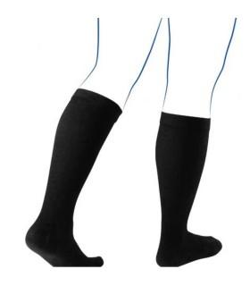Chaussettes de contention mixtes Soft & Care Classe 3 par Thuasne - Coloris Noir