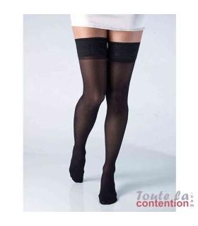 Bas de contention Femme Varisma Comfort Classe 2 par Innothera - Coloris Noir - Debout