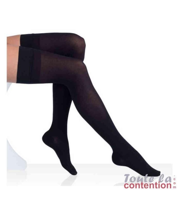Bas de contention Femme Varisma Comfort Classe 2 par Innothera - Coloris Noir - Assise
