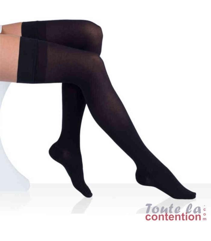 Bas de contention Femme Varisma Comfort Coton Classe 2 par Innothera - Coloris Noir