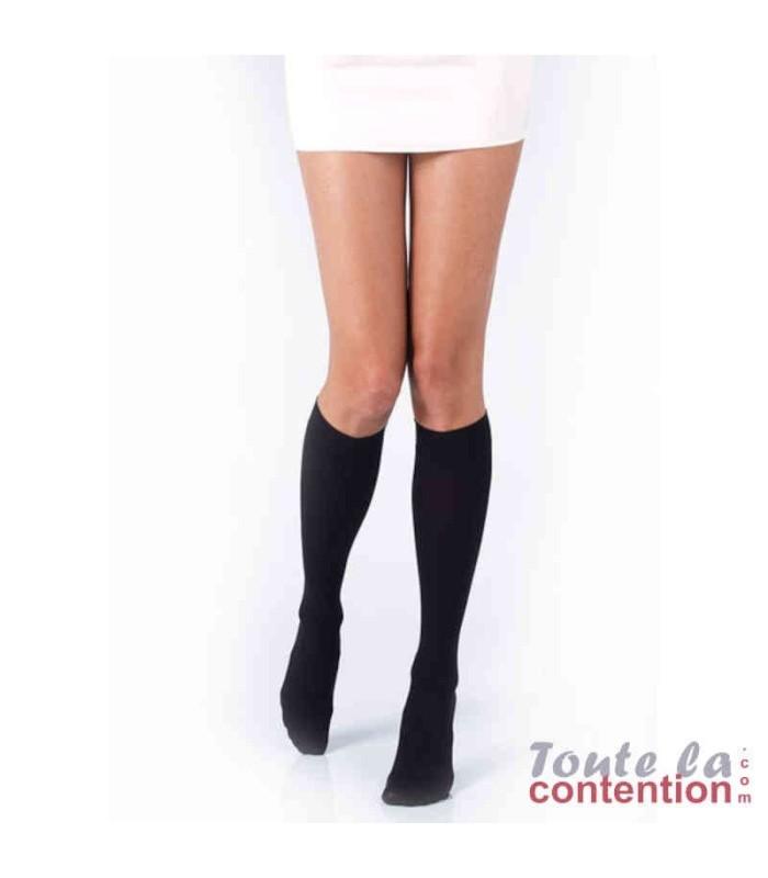 Chaussettes de contention Femme Varisma Comfort Coton Classe 3 par Innothera - Coloris Noir