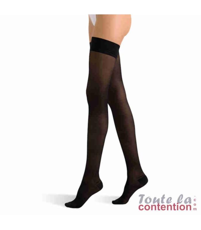 Bas de contention Femme Voilisim Basfix Classe 2 par Radiante - Coloris Noir