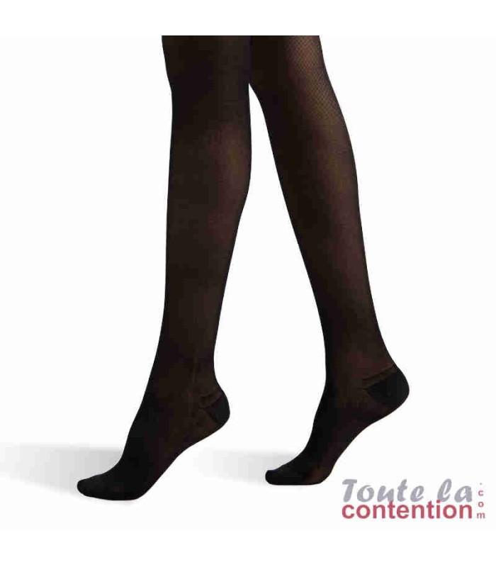 Collant de contention Femme Voilisim Classe 2 par Radiante - Coloris Noir