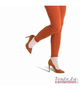 Chaussettes de contention Femme Détente Jarfix Classe 2 par Radiante - Coloris Beige - Zoom