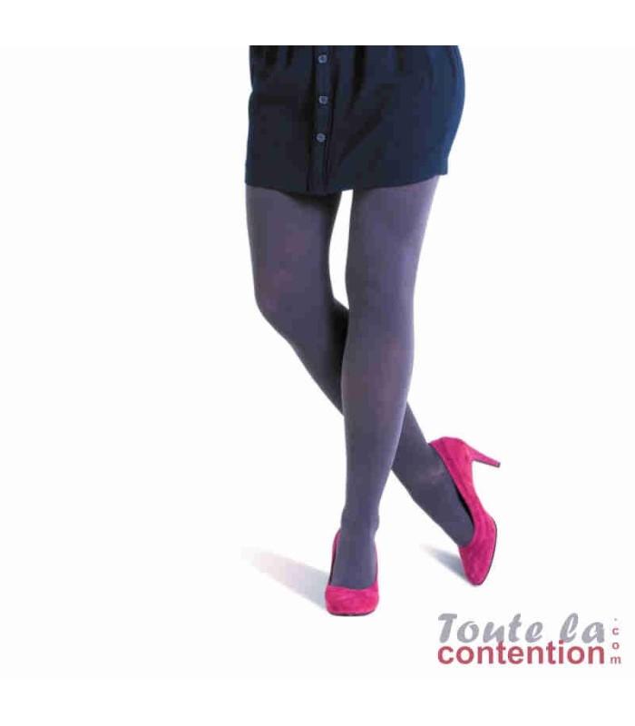 Collant de contention Femme Détente Classe 2 par Radiante - Coloris Ombre