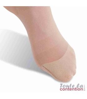 Chaussettes de contention Femme Voilisim Jarfix Classe 2 par Radiante - Coloris Nude - Pointe ballerine