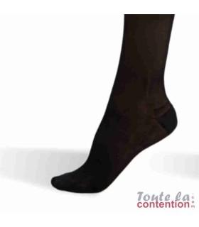 Chaussettes de contention Femme Voilisim Jarfix Classe 2 par Radiante - Coloris Noir