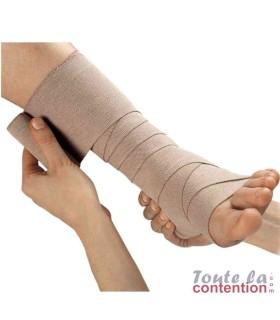 Bande de compression médicale Rosidal K par Lohmann & Rauscher - Application