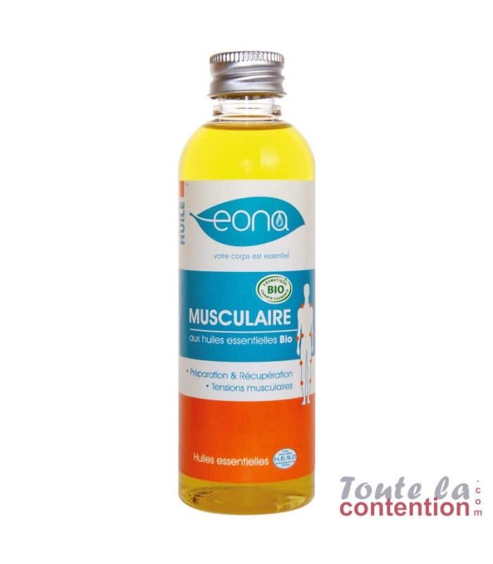 Huile de massage musculaire 100ml Bio par Eona