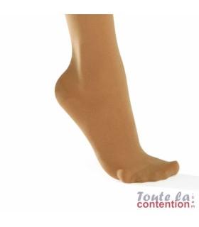 Chaussettes de contention Femme Dynaven Pure semi-opaque Classe 2 par Sigvaris - Coloris Beige