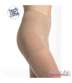 Collant de contention Femme Styles Transparent classe 2 par Sigvaris - Zoom sur la TechZone
