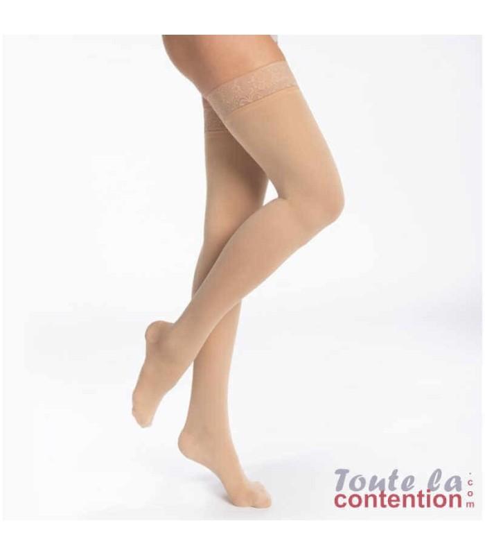 Bas de contention Femme Styles Opaque classe 2 par Sigvaris - Coloris Beige