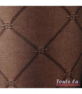 Bas de contention Femme Styles Motifs Losanges Classe 2 par Sigvaris - Zoom