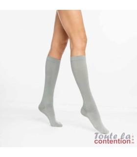 Chaussettes de contention Femme Active Confort Chaleur classe 2 Sigvaris - Coloris Plume
