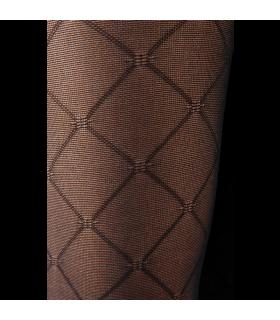 Zoom sur le motif Losange de la gamme Intrigue de Sigvaris