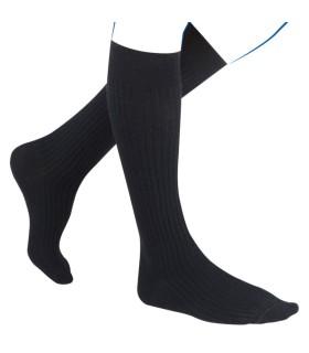 Chaussettes de contention Femme Fast Laine de Thuasne. Coloris Torsades noir