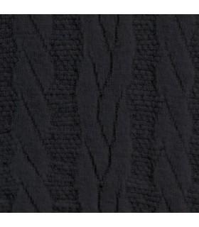 Chaussettes de contention Femme Fast Laine de Thuasne. Agrandissement sur le motif Torsades Noir