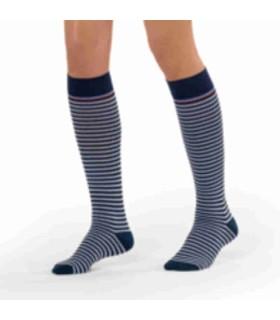 Chaussettes de contention Marinière pour femme de Sigvaris