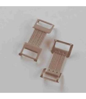 Zoom sur les attaches élastiques pour bandes Biflex de Thuasne